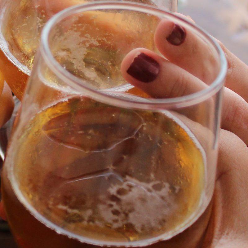 copa cerveza alcohol